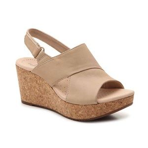 COLLECTION BY CLARKS Annadel Sky Wedge Sandals